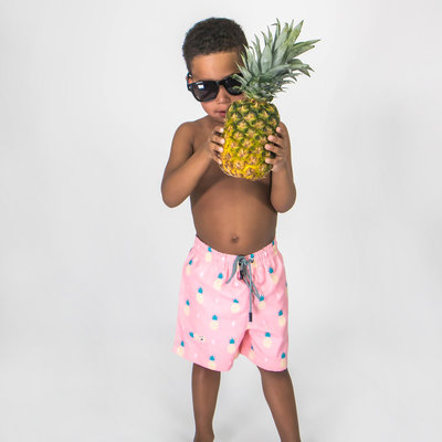 KINDER ZWEMSHORT - FINEAPPLE