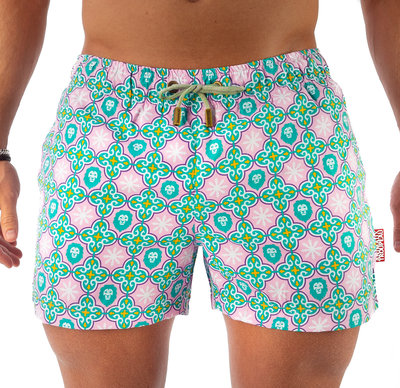 SWIM SHORTS - PERSIAN LION