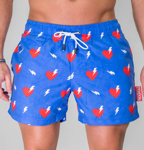 Zwembroek Short.Swim Shorts Electric Love